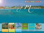 screenshot http://www.martiniquetourisme.com martinique tourisme : location de studio, villas, gite et voitures en martinique pour vos vacances
