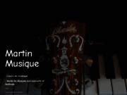 screenshot http://www.martinmusique.fr martin musique - magasin  de musique à la flèche