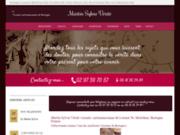 screenshot http://www.martinsylvieverite.com voyance pure par sylvie martin