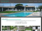 screenshot http://www.maryse-robin.com aménagement et entretien de jardins sur l'ile de ré