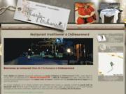 screenshot http://www.mas-echanson.net Restaurant traditionnel à Châteaurenard
