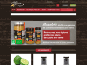 screenshot http://www.masalchi.fr epices bio direct fabricant