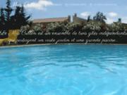 screenshot http://www.mascrillon.fr gîte entre provence et languedoc à beaucaire