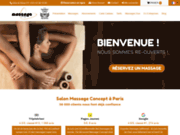 Salon de massage à Paris : Massage Concept
