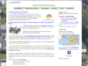 screenshot https://www.master-risques-environnement.fr Master Risques et Environnement