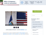 screenshot http://www.mat-drapeau.com/ Mat et drapeau