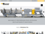 screenshot https://mat-extrusion.fr/ machines pour l'extrusion des plastiques et caoutchouc