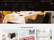 screenshot http://www.matelashotelier.fr/ literie hotellerie