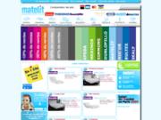 screenshot http://www.matelit.com vente de matelas