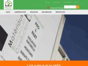 screenshot http://www.materiauxbioconstruction.com matériaux écologiques et biologiques de construction - mbc toulouse
