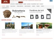 screenshot http://www.materiauxdantan.com les matériaux d'antan - matériaux anciens