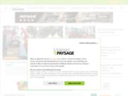 screenshot http://www.materiel-paysage.com matériel  paysage - le magazine des pros du jardin et des espaces verts