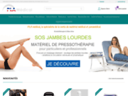screenshot http://www.materiel-pla-medical.fr/index.cfm materiel medical pla
