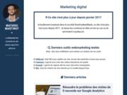 Mathieu Martinot - Consultant SEO et Webmarketing