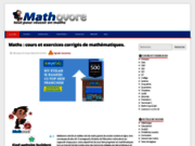 screenshot http://www.mathovore.fr mathovore