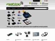 screenshot http://www.matlog.com/ Systèmes embarqués