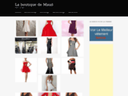 screenshot http://www.maudboutique.fr maudboutique vente de bijoux fantaisie en ligne