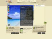 screenshot http://mauritius.umoov.org Guide touristique de l'île Maurice