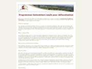 screenshot http://www.maursimmobilier.fr biens immobiliers du cantal, du lot et de l'aveyron