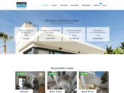 screenshot http://www.mavillaimmobiliere.com immobilier tunisie hammamet nabeul