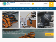 screenshot http://www.maxguerdin.fr max guerdin : accastillage et accessoires bateaux