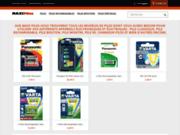 screenshot https://www.maxi-piles.fr/ Vente de piles électriques et de chargeurs