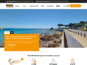 screenshot http://www.maximmobilier.fr max'immobilier ajaccio