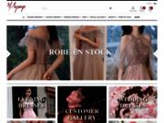 screenshot http://www.maysange.com/ Vêtements soignés
