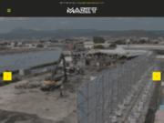 screenshot http://www.mazet-batiment.com mazet, finitions bâtiment : platrerie et peinture, sol, carrelage et parquet, façade et désamiantage