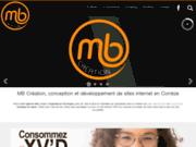 screenshot http://www.mb-creation.com création de sites internet, hébergement, avec mb creation