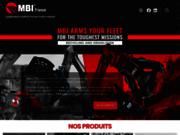 screenshot http://www.mbifrance.fr equipements et pièces d'usure tp toutes marques