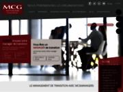 screenshot http://www.mcgmanagers.com/ management de transition, mcg managers