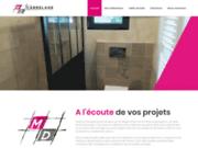 screenshot http://www.md-carrelage.com/ maçon proche royan, charente-maritime 17