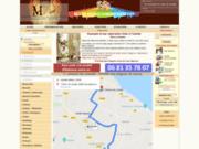 screenshot http://www.mdecoshop.com le spécialiste de la peinture sur tous supports
