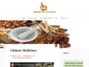 screenshot http://www.medecine-chinoise.info/ médecine chinoise