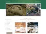screenshot http://www.medecine-des-lieux.fr géobiologie, feng shui, habitat biotique et environnement
