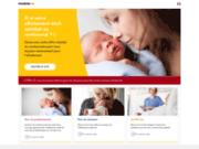 screenshot http://www.medela.fr/F/index.php medela, tire lait et accessoires allaitement
