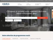 screenshot http://www.medicis-patrimoine.com/ Medicis Patrimoine