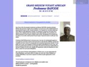 Grand voyant medium et marabout africain