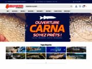 screenshot http://www.megapeche.com les meilleurs produits pour les meilleures pêches