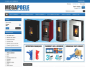 MEGAPOELE : vente de poêle a granulés pas cher