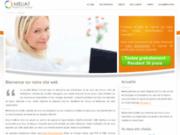 screenshot http://www.meliat.net meliat : logiciel de gestion des temps