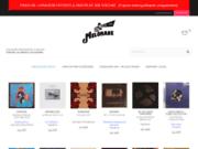 screenshot http://www.melomane.fr vente de vinyles neuf en ligne