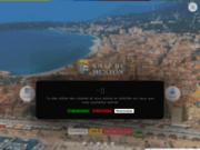 screenshot http://www.menton.fr www.menton.fr site officiel de menton