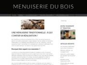screenshot http://www.menuiserie-bois-40-64.fr menuisier bois à hagetmau 40