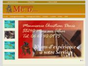 screenshot http://menuiserie-christiandenis.com Annuaire Web Tagbox