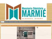 screenshot http://www.menuiserie-marmie-fumel.fr Menuiserie ébeniste mixte bois alu Fumel et soturac