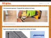 screenshot http://www.menuiserie-nicolas.com/ entreprise nicolas menuiserie somme