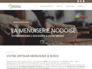 screenshot https://www.menuiserie-nodoise.fr/ La Menuiserie Nodoise, située entre Besançon et Pontarlier