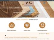 screenshot https://www.menuiserie-pommeuse.fr/ Ateliers Déco Du Morin
